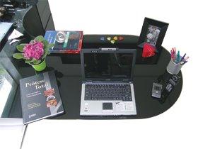 organize sua mesa de trabalho seguindo o feng shui